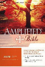 Amplified Bible Bonded Leather