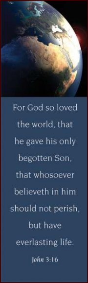 For God so Loved - Bookmark (25-PKG)