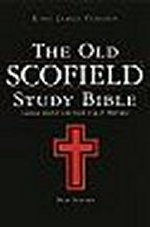 Old Scofield Study Bible Large Print KJV Hardcover