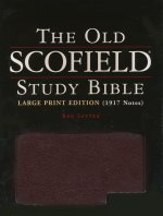 Old Scofield Study Bible Large Print KJV Black Genuine Leather