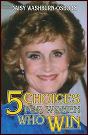 Five Choice For Women Who Win CD