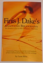 Finis Dake's Annotated Bibliography PDF by Leon Bible