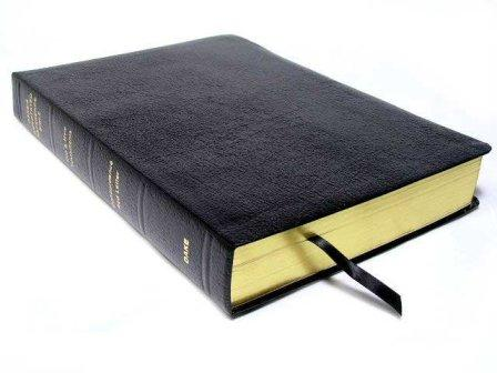 Dake Annotated Reference Bible Standard Bonded Black by Finis Dake