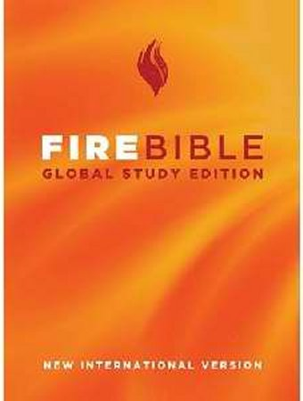 Fire Bible Global Study Edition Hardcover