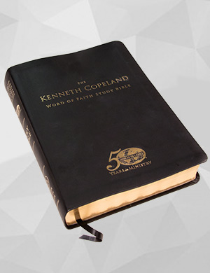 The Kenneth Copeland Word of Faith Study Bible Leathersoft
