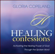 Healing Confessions CD & Booklet by Gloria Copeland