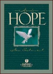 HCSB Here\'s Hope New Testament-Softcover