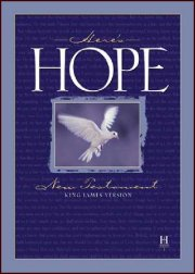KJV Here's Hope New Testament-Softcover (Box of 48)