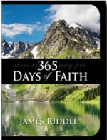 365 Days of Faith by James Riddle