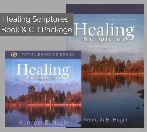 Healing Scriptures Book & CD Package