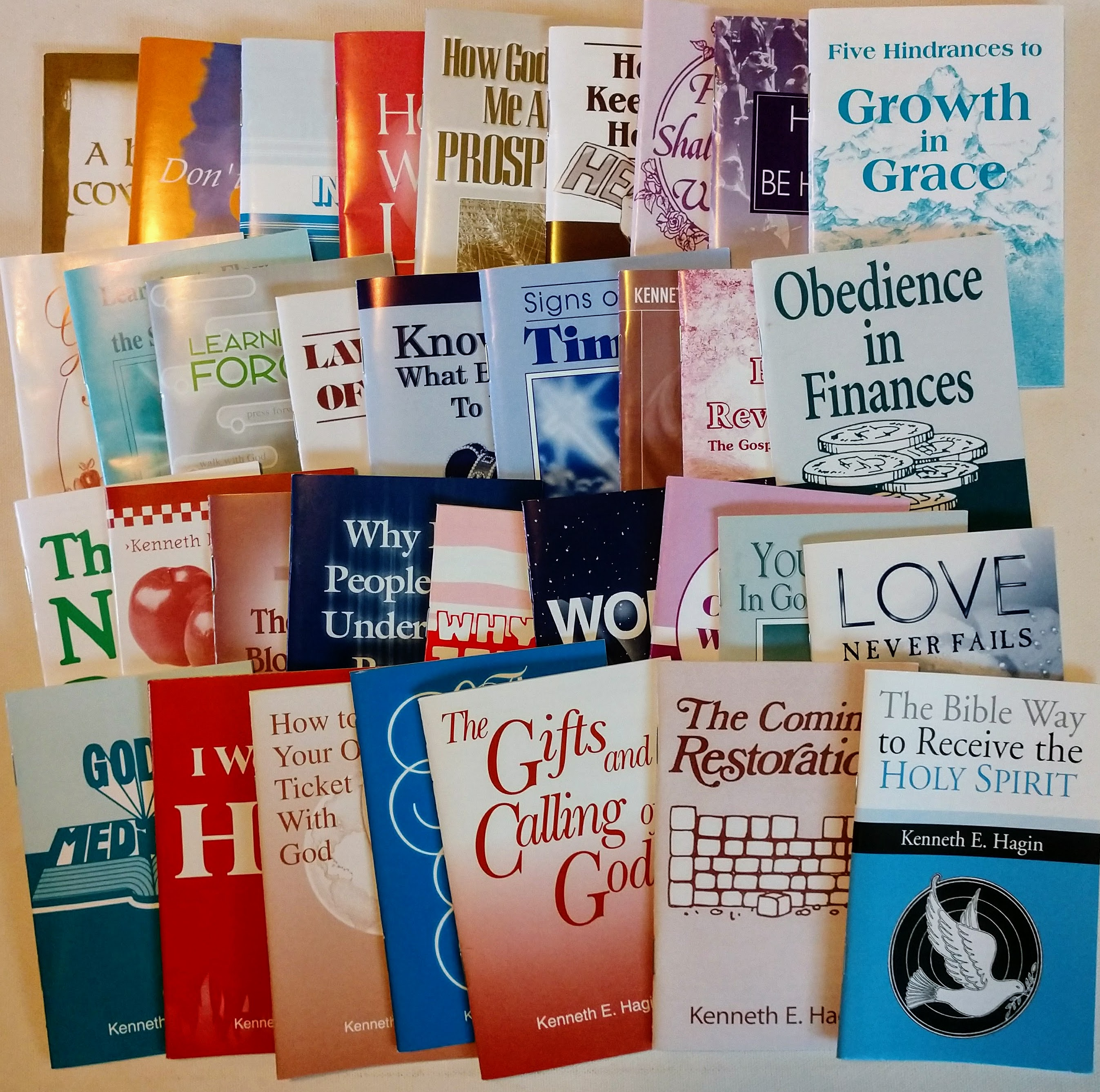 Kenneth E Hagin Mini Book Package