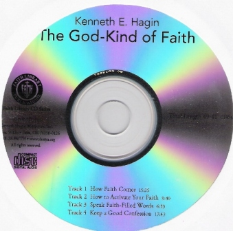 The God-Kind of Faith Single CD by Kenneth Hagin
