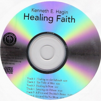 Healing Faith CD