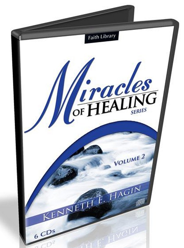 Miracles of Healing Vol 2 CD Series by Kenneth Hagin