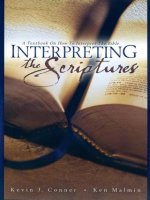Interpreting The Scriptures by Kevin J Conner