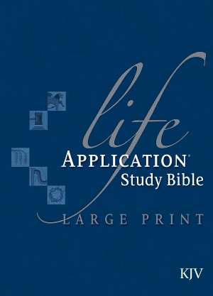 KJV Life Application Study Bible/Large Print-Hardcover
