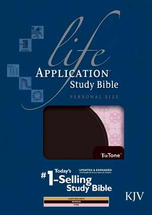 KJV Life Application Study Bible/Personal Size-Brown/Pink TuTone
