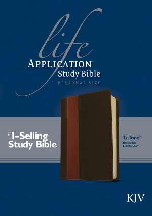 KJV Life Application Study Bible/Personal Size-Brown/Tan TuTone