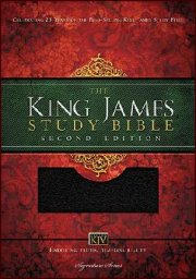King James Study Bible Hardcover