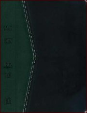 KJV Reference Bible Black/Green Imitation Leather-soft