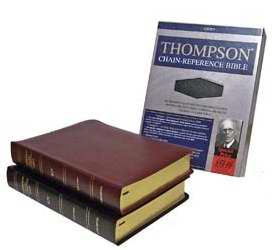 KJV Thompson Chain Reference Bible Bonded Leather