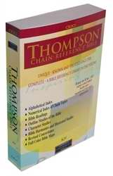 KJV Thompson Chain Reference Bible Softcover