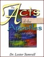 Acts Of The Apostles - Study Guide by Lester Sumrall