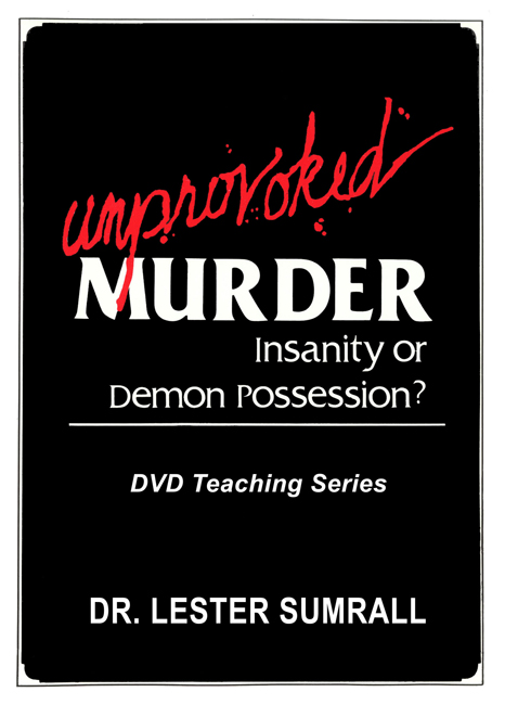 Unprovoked Murder: Insanity Or Demon Possession? DVD Set