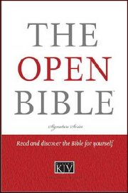 KJV Open Bible Hardcover