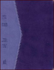 KJV Reference Bible Plum Leather-soft