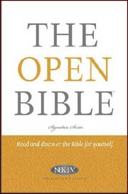 NKJV Open Bible Hardcover