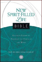 NIV New Spirit-Filled Life Bible Hardcover