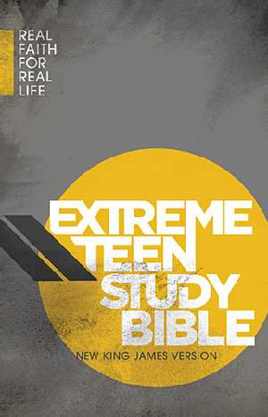 NKJV Extreme Teen Study Bible Hardcover