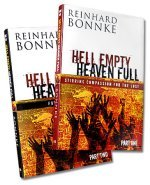 Hell Empty - Heaven Full- Part 1 & 2 Books by Reinhard Bonnke