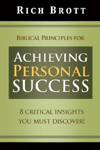 Biblical Principles For Achieving Personal Success