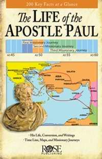 The Life Of The Apostle Paul Pamphlet (Single)