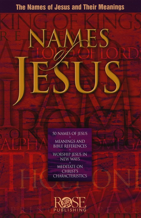 The Names of Jesus Pamphlet (Single)