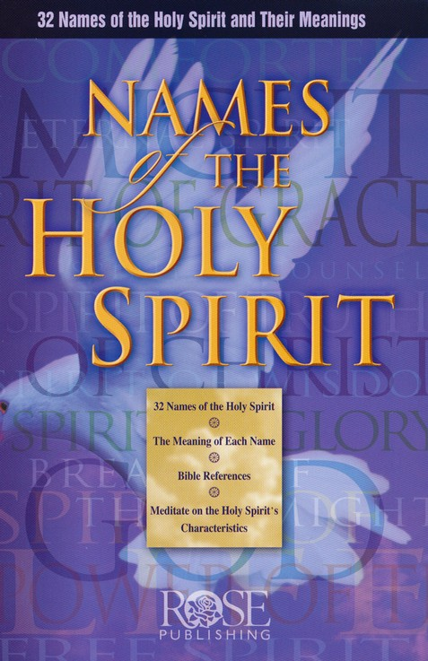 The Names of the Holy Spirit Pamphlet (Single)