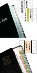 Bible Indexed Tabs