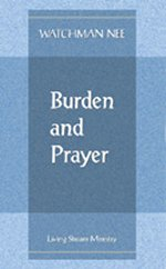 Burden and Prayer